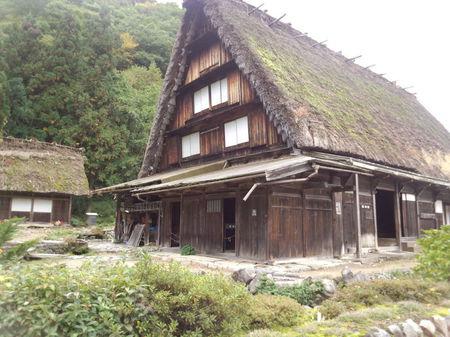 白川郷の代表的な合掌造りである 国指定重要文化財 旧遠山家民俗館 (Tooyama house) ④