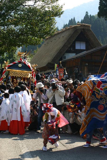 白川郷どぶろく祭 10月14日 ①