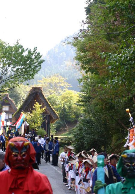 白川郷どぶろく祭 10月14日 ⑪