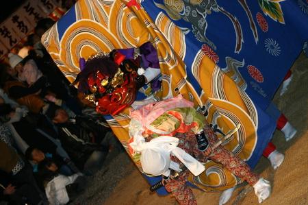 天下の奇祭 白川郷「どぶろく祭」 白川八幡宮 10月14日~15日 荻町合掌造り集落~獅子舞~どぶろく振舞 ⑪