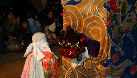天下の奇祭 白川郷「どぶろく祭」 白川八幡宮 10月14日~15日 荻町合掌造り集落~獅子舞~どぶろく振舞 ⑬