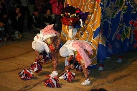 天下の奇祭 白川郷「どぶろく祭」 白川八幡宮 10月14日~15日 荻町合掌造り集落~獅子舞~どぶろく振舞 ⑭