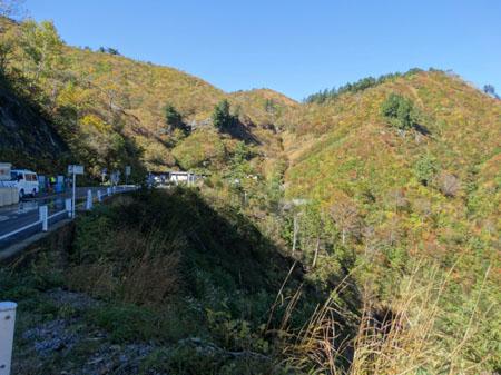 白山スーパー林道 岐阜県側 三方岩駐車場 ①