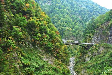 白山スーパー林道 石川県側 蛇谷大橋 標高680m ⑤