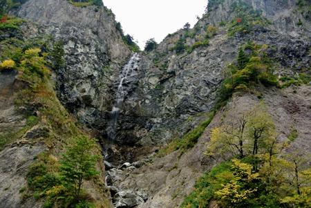 白山スーパー林道 石川県側 ふくべの大滝 標高900m ④