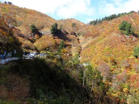 白山スーパー林道(岐阜県側) 三方岩駐車場 ①