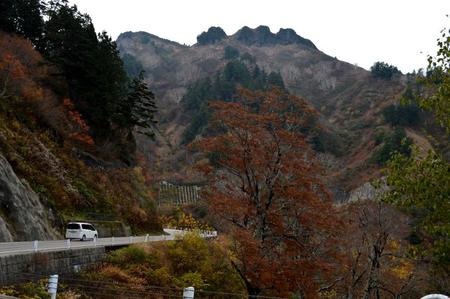 11月03日の紅葉 三方岩岳 ②