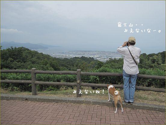 富士山が消えた。