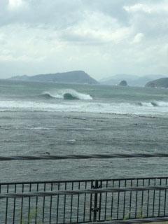 宮崎颱風波