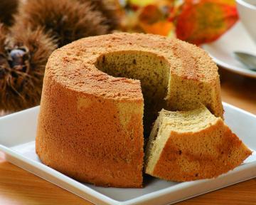 chiffon cake-maron1