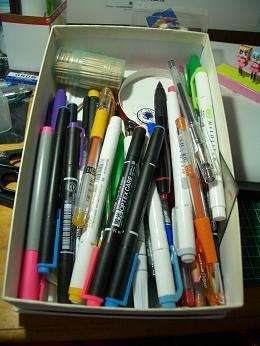 彩色用ペン