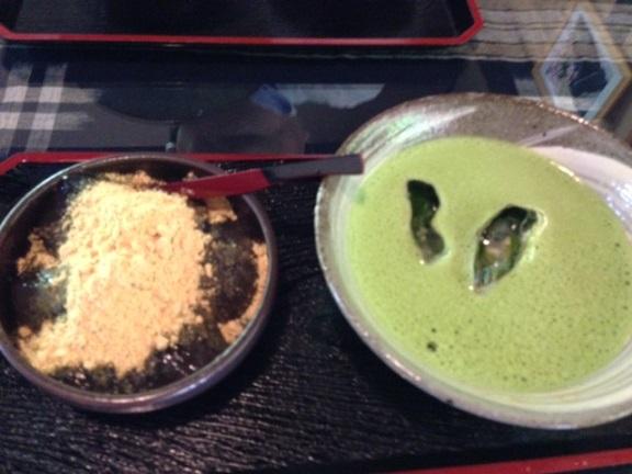 三田市・峠の茶屋 一軒家(わらび餅)