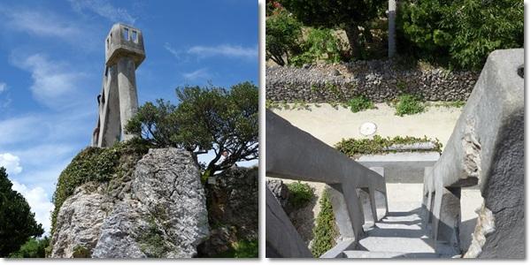 石垣島旅行(竹富島5)なごみの塔 2013・6月18日