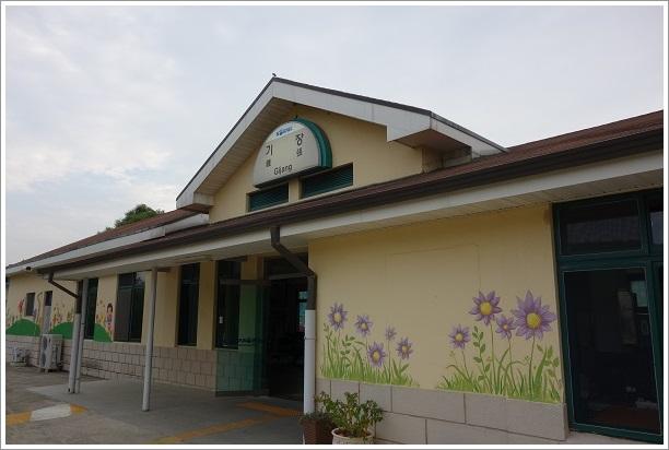 韓国・釜山旅行(機張駅) (2)