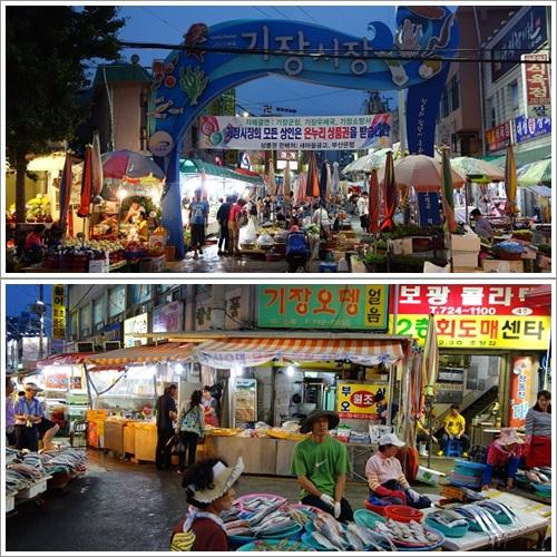 韓国・釜山旅行(機張市場)2013・9月14日