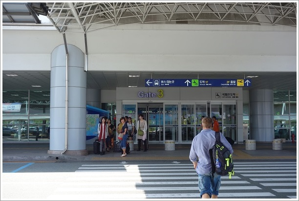 韓国・釜山旅行(金海国際空港)