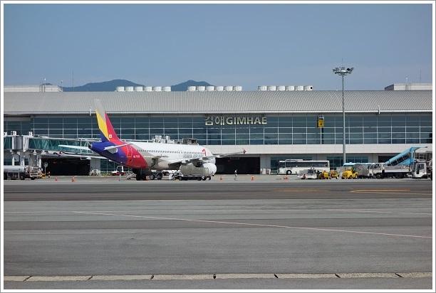 韓国・釜山旅行(金海国際空港)2013・9月15日