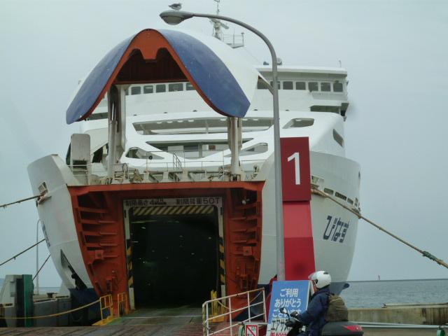函館から乗船