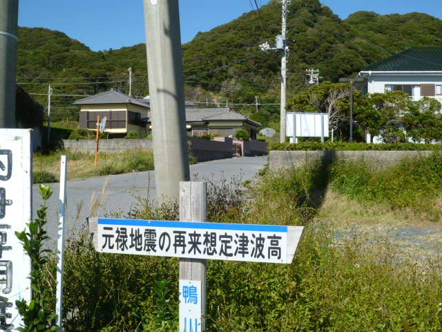 元禄地震の再来想定高さ