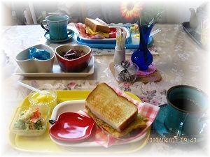 407エッグトースト ブログ