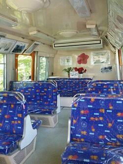 508バス車内 ブログ