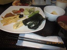 104朝食1 ブログ