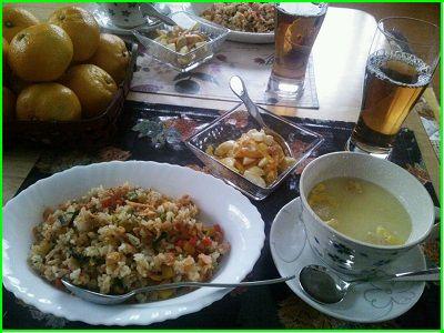 1024昼食 ブログ