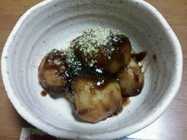 1116里芋 酢味噌和え ブログ