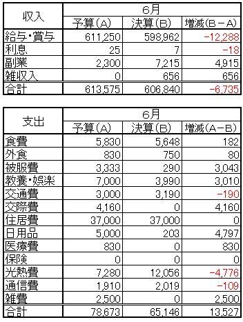 収支(2013.6)