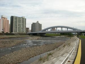 豊平川河川敷①