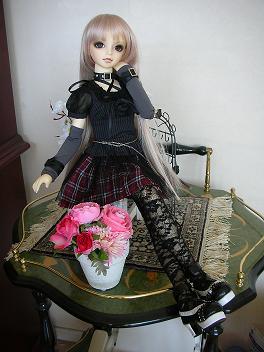 桜、ハロウィンお出かけ前の写真 2014 2