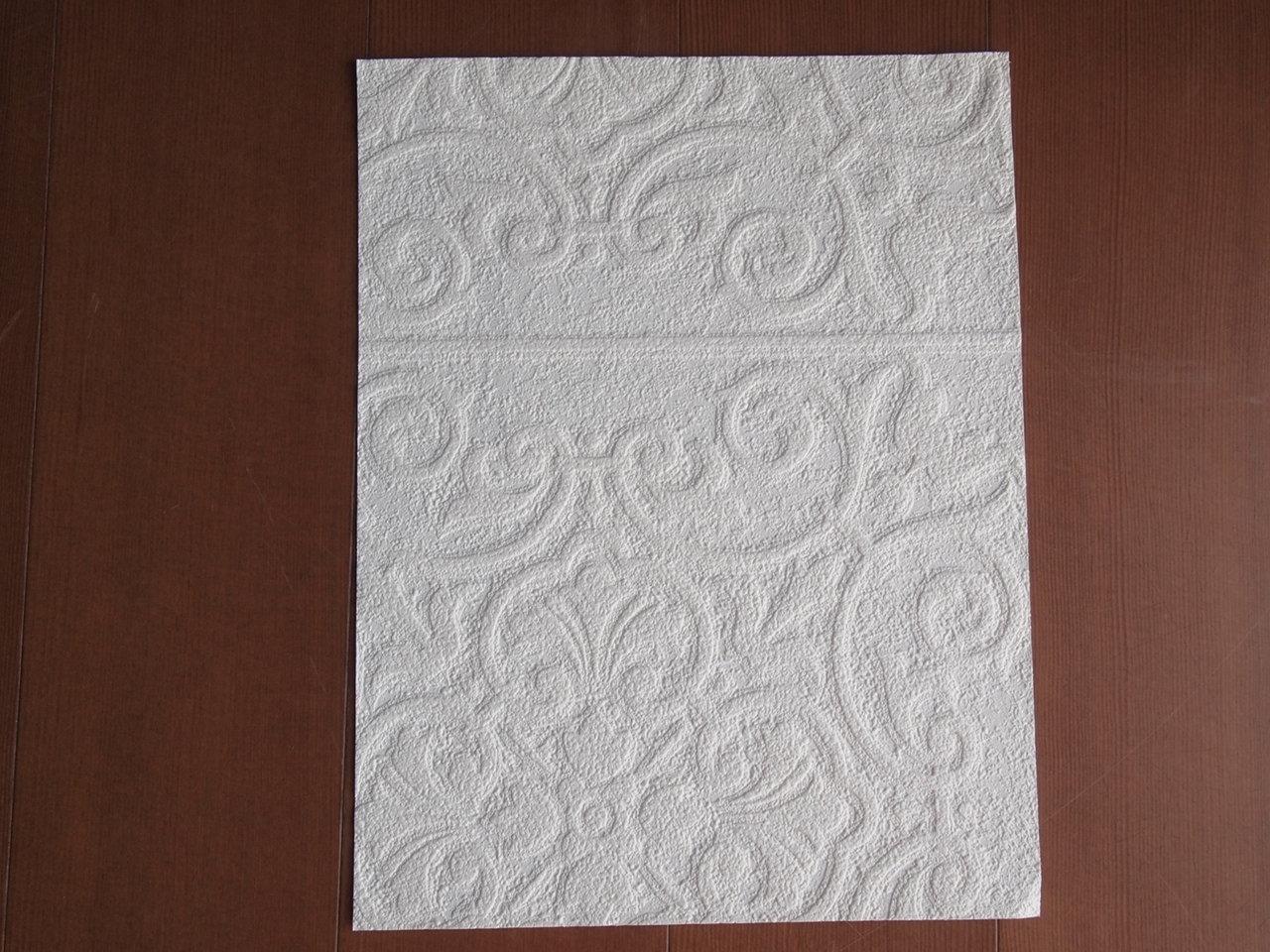 記録簿 壁紙 床材のサンプル 天井