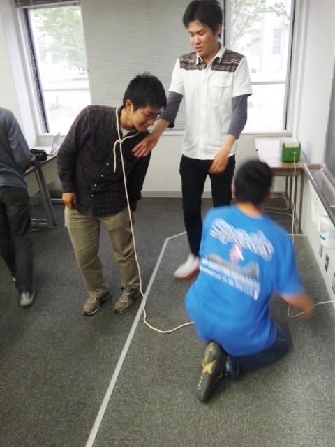 紐の結び方学科