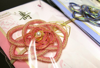 桂由美デザイン婚礼用のし袋(水引)