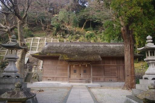 加賀神社の拝殿