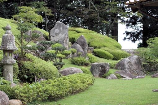 大麻山神社庭園