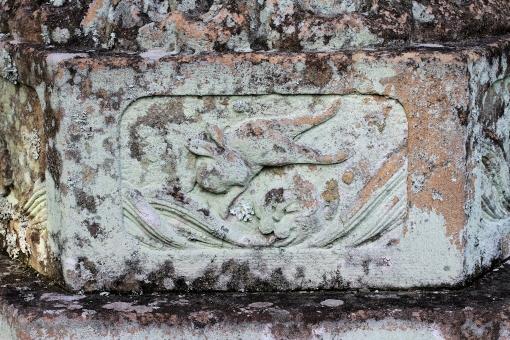 内神社の波乗りウサギ