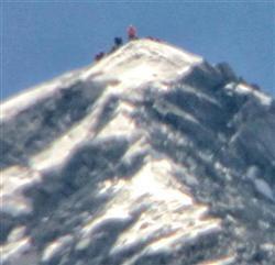 エベレスト登山
