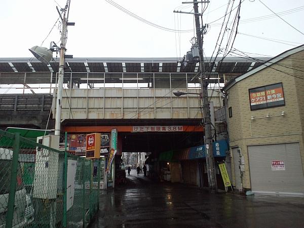 新今宮駅下