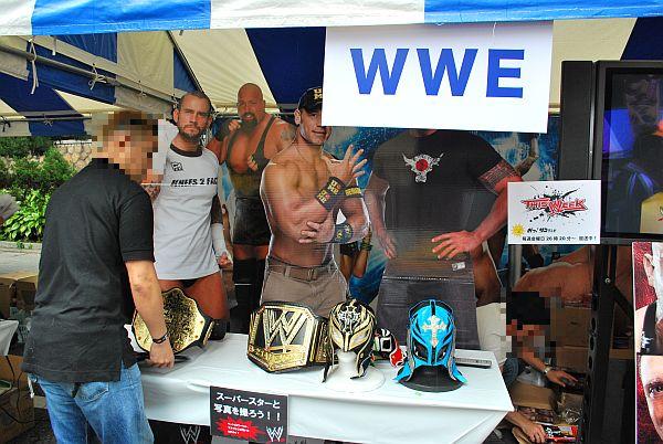 WWEブース