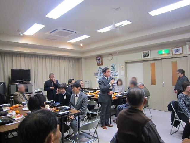 2014.1.11 御菅ふれまち互礼会と震災追悼。板宿のイベント。。