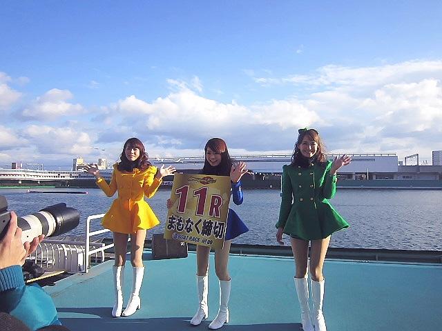 2014.1.26 JR立花駅から尼崎ボートレースに行ってきたのです。(^^♪