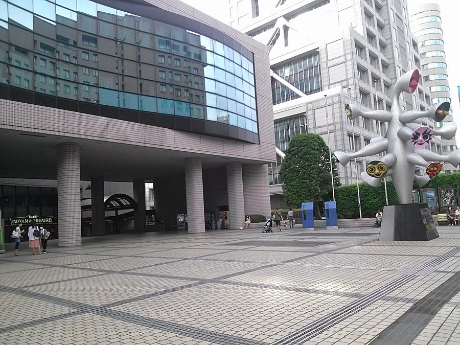 2013.8.25(日)16:00頃こどもの城前