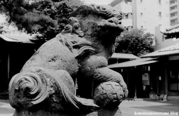 駒留八幡神社(世田谷区上馬)3