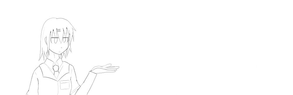 バナー線画