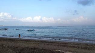 20140926バリ島ホテルの前の海