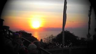20140929ウルワッ寺院の夕陽