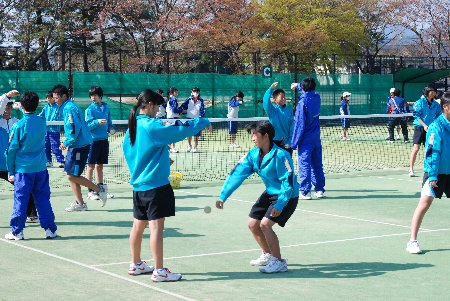 ソフトテニス講習会1