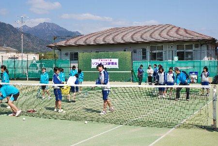 ソフトテニス講習会2