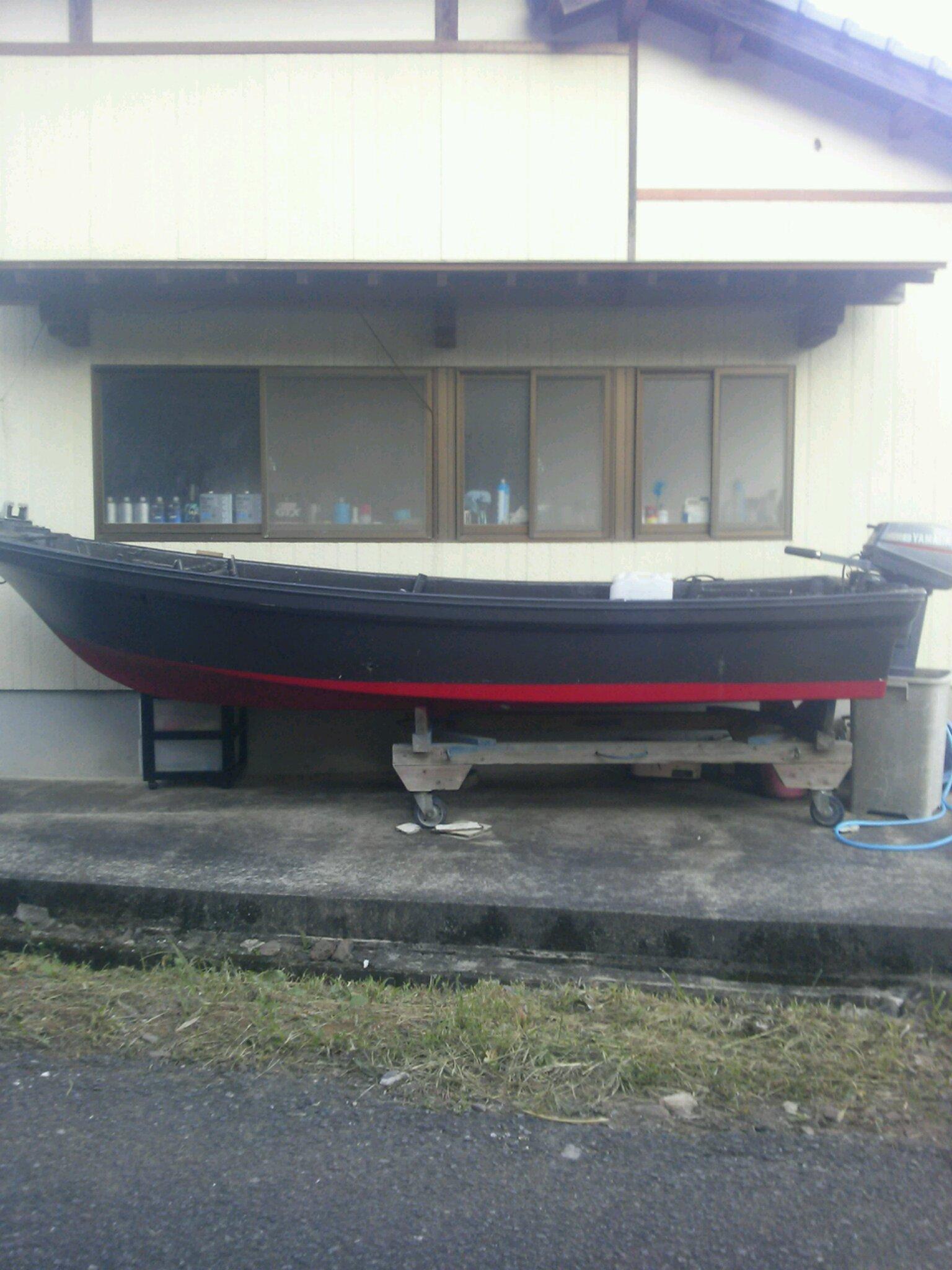 ノグチ君密漁船